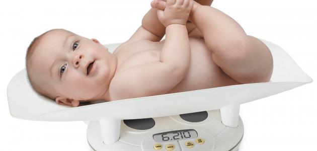 وزن الطفل في الشهر الأول