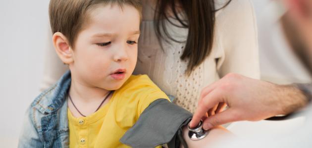أسباب ارتفاع الضغط عند الأطفال
