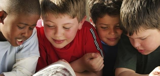 قصص أطفال مصورة عن المدرسة