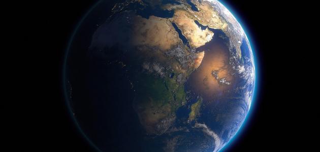 سرعة دوران الأرض حول نفسها
