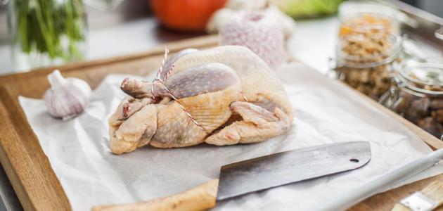 القيمة الغذائية للدجاج