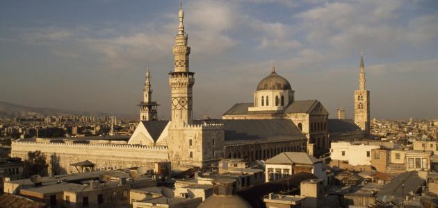 دمشق عاصمة الخلافة الأموية