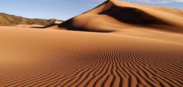 انواع الكثبان الرملية