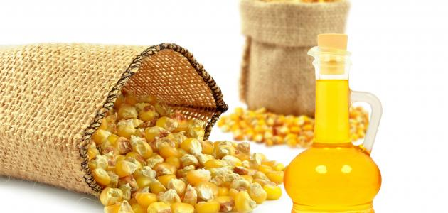 السعرات الحرارية في زيت الذرة