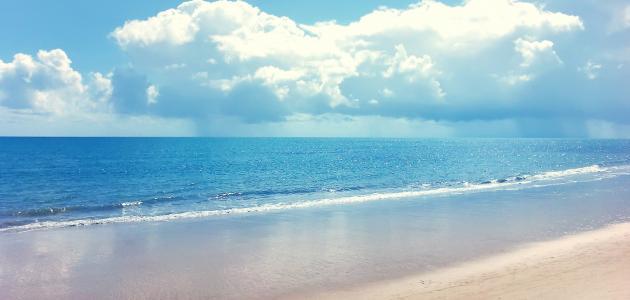 تعبير عن شاطئ البحر
