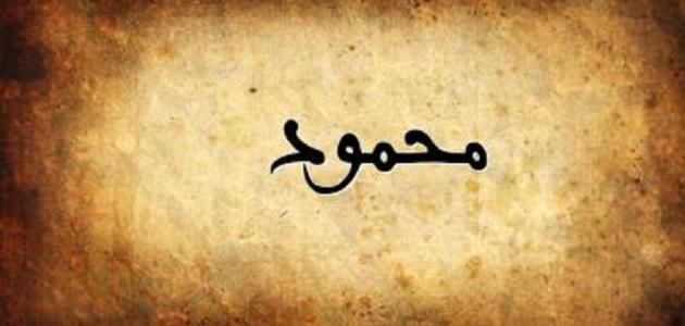 تفسير اسم محمود في المنام