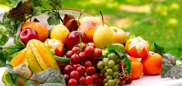 أقل الفواكه سعرات حرارية