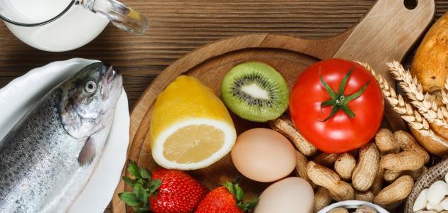 الأطعمة التي تسبب الحساسية