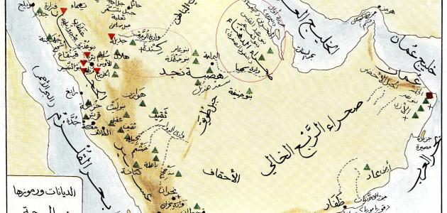 خريطة الجزيرة العربية قديما Images Gallery
