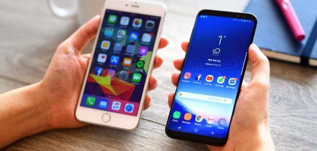 مقارنة بين أنظمة تشغيل الهواتف الذكية