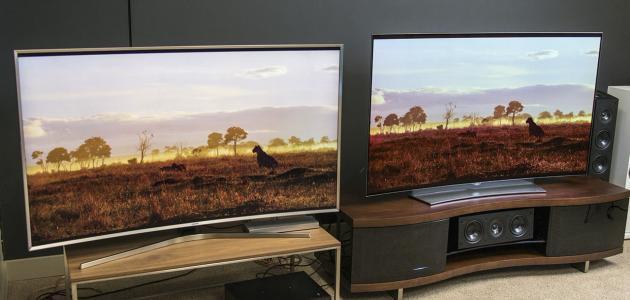 أنواع شاشات التلفزيون