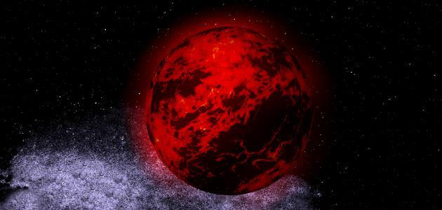 ما هو الكوكب الأحمر