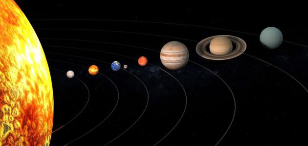 بحث عن كواكب المجموعة الشمسية