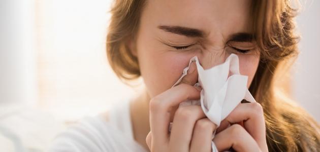 علاج الزكام والتهاب الحلق