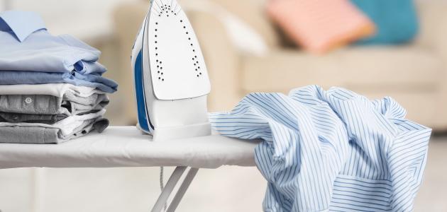 طريقة كي الملابس الحساسة والناعمة