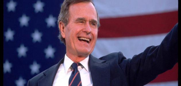 نبذة عن جورج بوش الأب