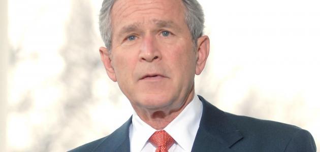 من هو جورج بوش الابن