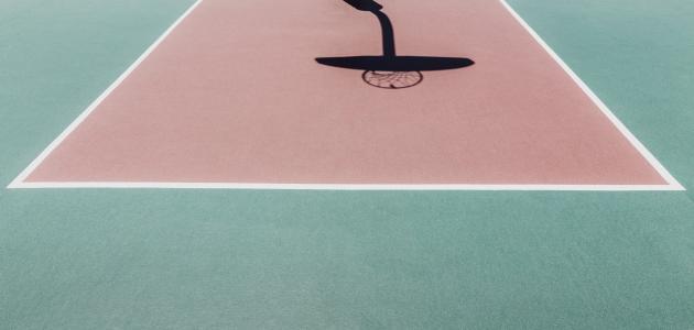 أبعاد ملاعب كرة السلة