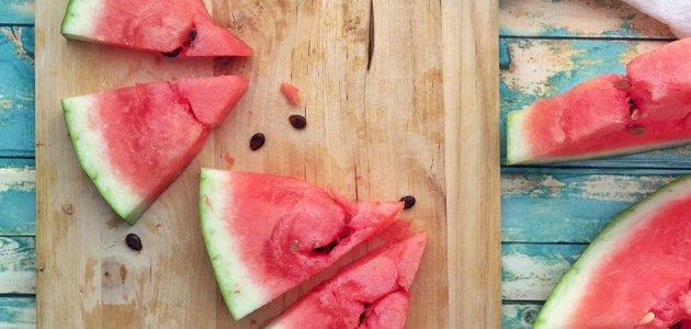 طرق تغذوية للتخلص من الماء الزائد في الجسم