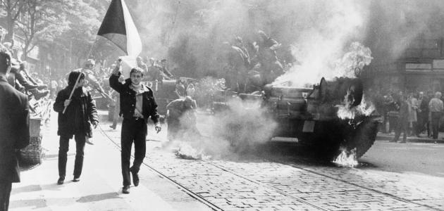 الثورة المخملية وتفكك تشيكوسلوفاكيا