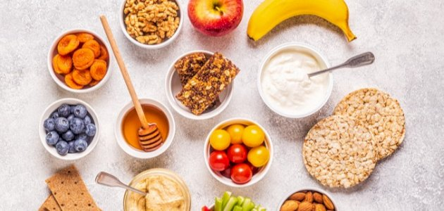 10 خيارات رائعة لسناك صحي