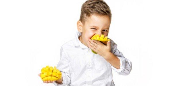 فوائد المانجو الصحية للأطفال