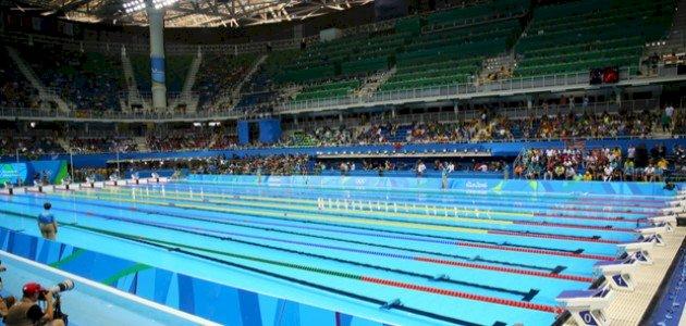 كيف تصمَّم حمامات السباحة الأولمبية؟